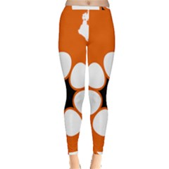 Flag Map Of Northern Territory Inside Out Leggings