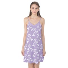 Floral In Crocus Petal  Camis Nightgown