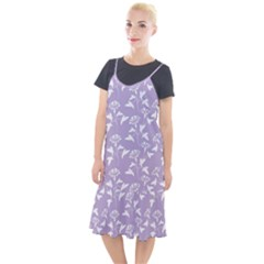Floral In Crocus Petal  Camis Fishtail Dress