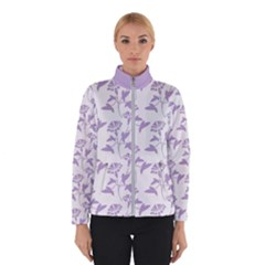 Floral In Crocus Petal  Winter Jacket by TimelessFashion