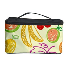 Seamless Pattern Fruit Cosmetic Storage by Mariart
