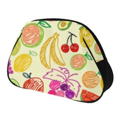 Seamless Pattern Fruit Full Print Accessory Pouch (small) by Mariart