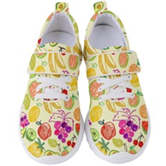 Seamless Pattern Fruit Women s Velcro Strap Shoes by Mariart