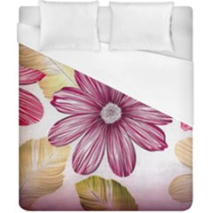 Star Flower Duvet Cover (california King Size) by Mariart