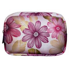 Star Flower Make Up Pouch (small) by Mariart
