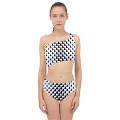 Triangle Forest Wood Tree Stylized Spliced Up Two Piece Swimsuit