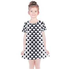 Triangle Forest Wood Tree Stylized Kids  Simple Cotton Dress
