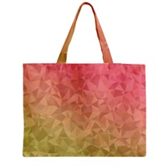 Triangle Polygon Medium Tote Bag