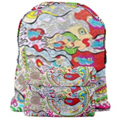 Supersonic Pyramid Protector Angels Giant Full Print Backpack by chellerayartisans