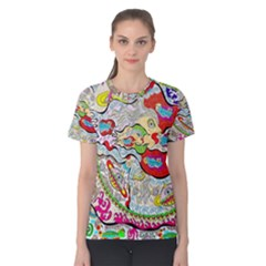 Supersonic Pyramid Protector Angels Women s Cotton Tee