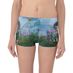 Cute Little Fairy Reversible Boyleg Bikini Bottoms by FantasyWorld7