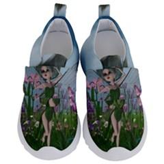 Cute Little Fairy Kids  Velcro No Lace Shoes by FantasyWorld7