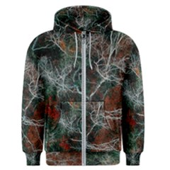 Night In The Forest Men s Zipper Hoodie