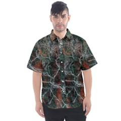 Night In The Forest Men s Short Sleeve Shirt