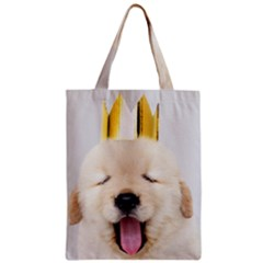 Royal Puppy Yawns Classic Tote Bag