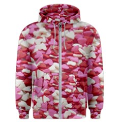 Love Sprinkles Men s Zipper Hoodie
