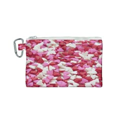 Blur Candy Close Up 190933 Canvas Cosmetic Bag (small) by WensdaiAddamns