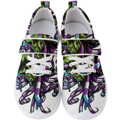 Tentacle Skull Men s Velcro Strap Shoes by Jojostore