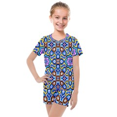 Ml 6 4 Kids  Mesh Tee And Shorts Set