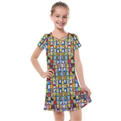Ml-65 Kids  Cross Web Dress by ArtworkByPatrick