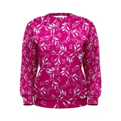 Fancy Floral Pattern Women s Sweatshirt