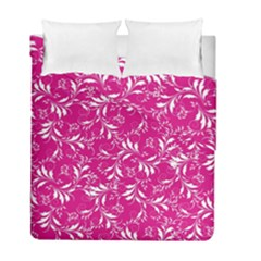 Fancy Floral Pattern Duvet Cover Double Side (full/ Double Size)