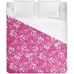 Fancy Floral Pattern Duvet Cover (california King Size) by tarastyle