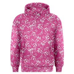 Fancy Floral Pattern Men s Overhead Hoodie