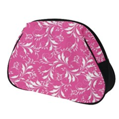 Fancy Floral Pattern Full Print Accessory Pouch (small)