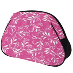 Fancy Floral Pattern Full Print Accessory Pouch (big)