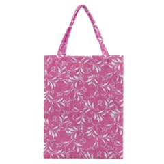 Fancy Floral Pattern Classic Tote Bag