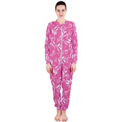 Fancy Floral Pattern Onepiece Jumpsuit (ladies)