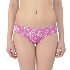 Fancy Floral Pattern Hipster Bikini Bottoms