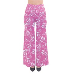 Fancy Floral Pattern So Vintage Palazzo Pants
