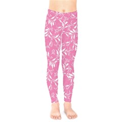 Fancy Floral Pattern Kids  Legging