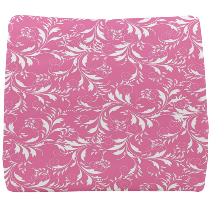 Fancy Floral Pattern Seat Cushion