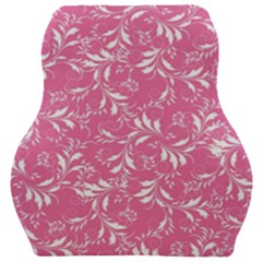 Fancy Floral Pattern Car Seat Velour Cushion