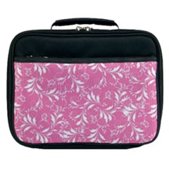 Fancy Floral Pattern Lunch Bag