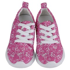 Fancy Floral Pattern Kids  Lightweight Sports Shoes