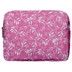 Fancy Floral Pattern Make Up Pouch (large)