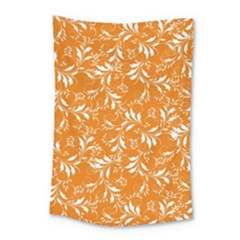 Fancy Floral Pattern Small Tapestry by tarastyle