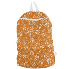 Fancy Floral Pattern Foldable Lightweight Backpack