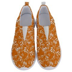 Fancy Floral Pattern No Lace Lightweight Shoes