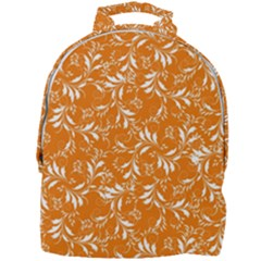 Fancy Floral Pattern Mini Full Print Backpack