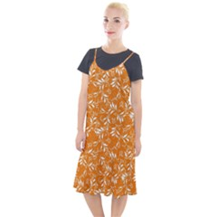 Fancy Floral Pattern Camis Fishtail Dress by tarastyle