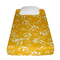 Fancy Floral Pattern Fitted Sheet (single Size)