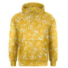 Fancy Floral Pattern Men s Pullover Hoodie