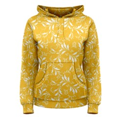 Fancy Floral Pattern Women s Pullover Hoodie