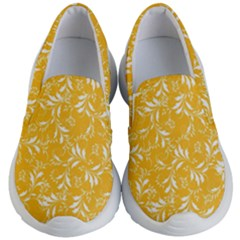 Fancy Floral Pattern Kids  Lightweight Slip Ons