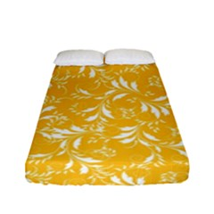 Fancy Floral Pattern Fitted Sheet (full/ Double Size)